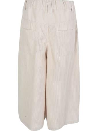 Zucca Cropped Stripe Culottes
