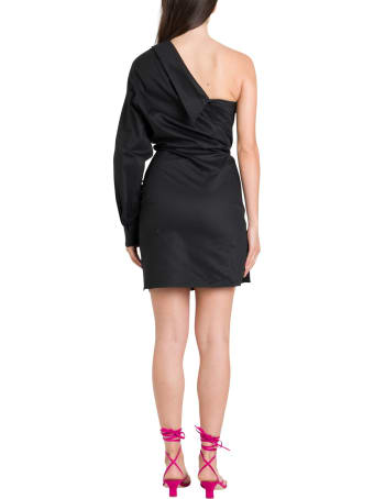 RTA One-shoulder Wrapped Dress