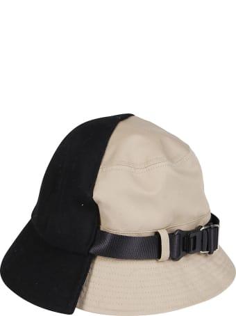 CA4LA Black And Beige Wool Blend Hat