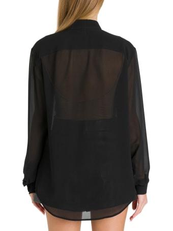 Saint Laurent Silk Crepe Shirt