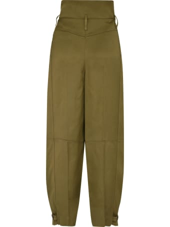 Givenchy High-waist Tapered-fit Trousers