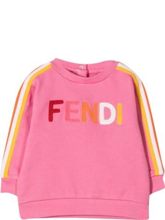 Fendi Pink Sweatshirt