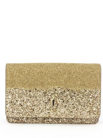 Jimmy Choo Palace Mini Bag In Gold