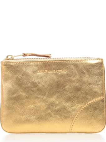 Comme des Garçons Wallet Wallet Small Gold And Silver