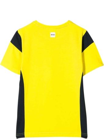 Hugo Boss Yellow T-shirt Teen