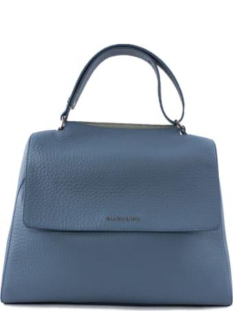 Orciani Hydrangea Leather Sveva Bag