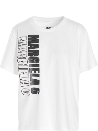 MM6 Maison Margiela 'logo Race' T-shrt