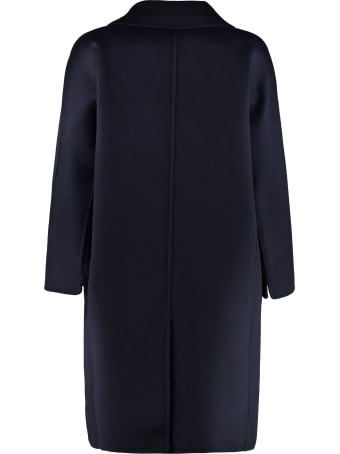 'S Max Mara Anita Double-breasted Wool And Cashmere Coat