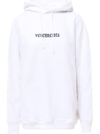 VETEMENTS Logo Hoodie Sweatshirt