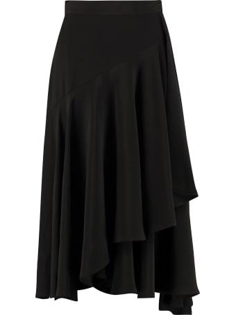 L'Autre Chose Asymmetric Wrap Skirt
