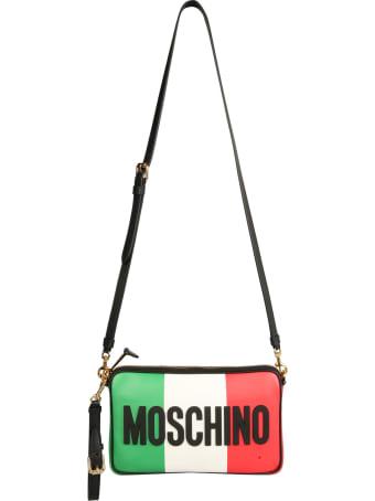 Moschino Italian Slogan Shoulder Bag
