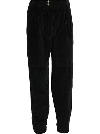 Etro Black Cotton Trousers