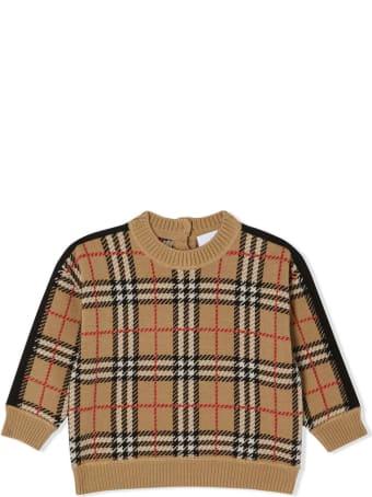 Burberry Beige Merino Wool Jumper