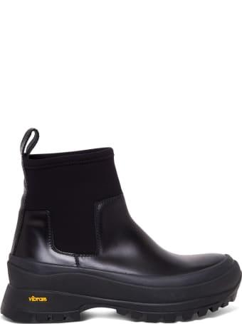 Jil Sander Vibram Neoprene Ankle Boots
