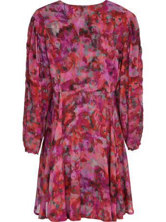 IRO Gaiety Printed Chiffon Dress