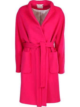 Bottega Martinese wool coat