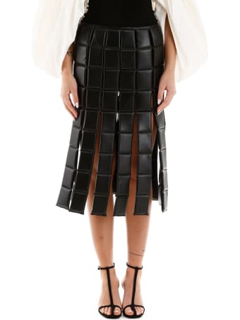 A.W.A.K.E. Mode Bonded Midi Skirt