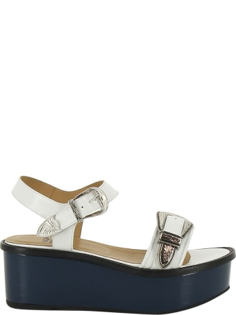 Toga Pulla Toga Buckled Wedge Sandals