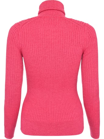 Moncler Ribbed Knit Turtleneck Pullover