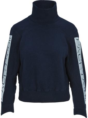 Facetasm Facetasm High Neck Cropped Sweatshirt