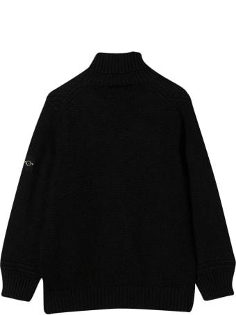 Stone Island Junior Black Sweater