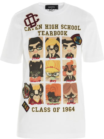 Dsquared2 'college' T-shirt