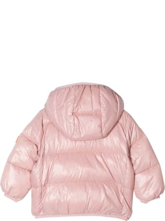 Save the Duck Light Pink Jacket Kids
