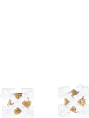 Off-White 'leaves Mini Arrows' Earrings