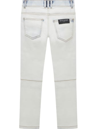 Balmain Paris Kids Jeans