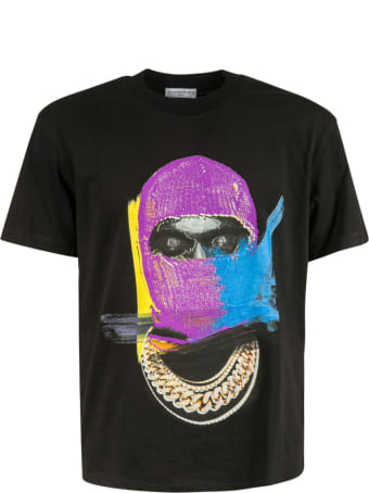 ih nom uh nit Mask On Painted Print T-shirt