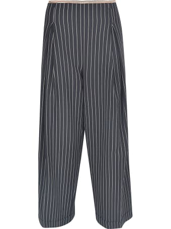 Ibrigu Straight-leg Striped Trousers