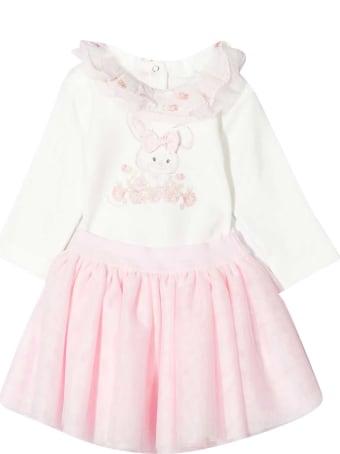Monnalisa White Dress