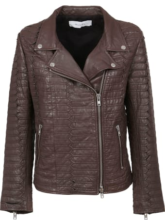 Bully Brown Leather Jacket
