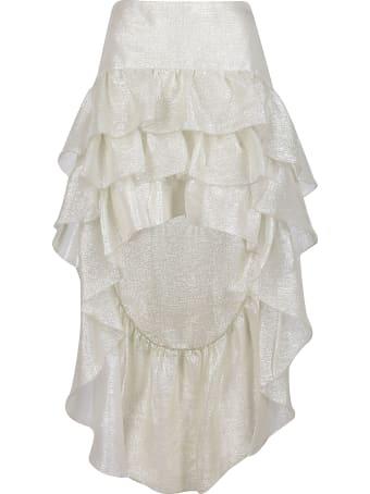 WANDERING Tiered Ruffled Skirt