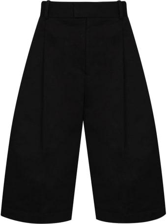 Bottega Veneta Over The Knee Tailored Shorts