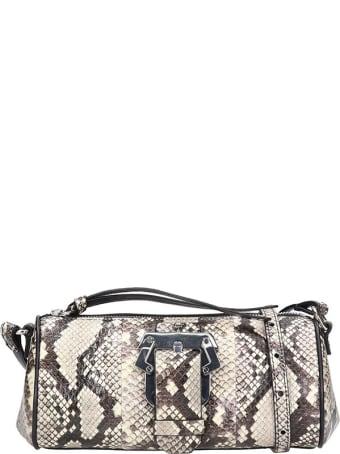 Paula Cademartori Baru Small Shoulder Bag In White Leather