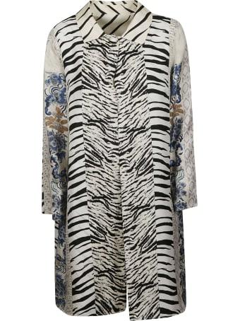 Pierre-Louis Mascia Zebra-skin Effect Shirt Dress