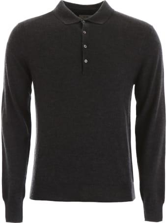 CC Collection Corneliani Cashmere Polo Shirt
