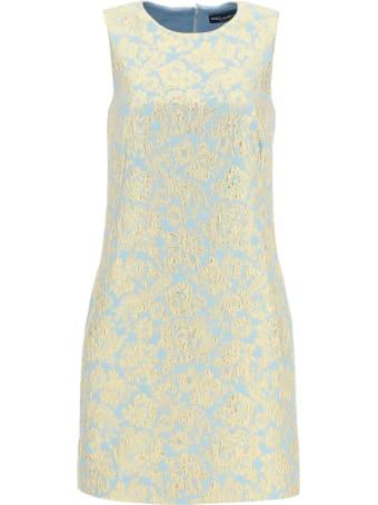 Dolce & Gabbana Lame' Jacquard Mini Dress