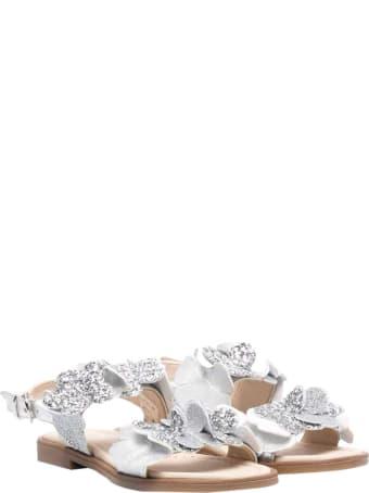 Florens Florence Kids Silver Sandals