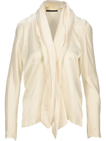 Haider Ackermann Draped Neck Blouse