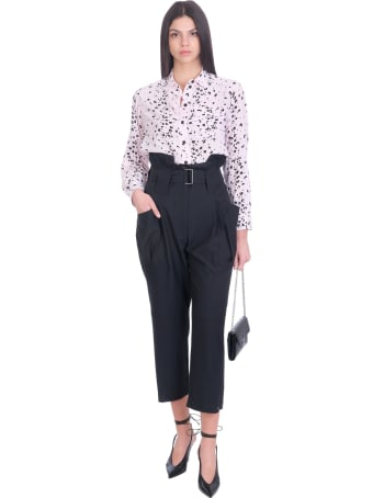 Kenzo Pants In Black Cotton