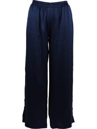 Gold Hawk Silk Trousers