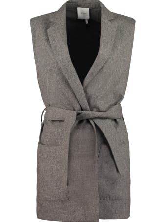 Agnona Belted Long Vest