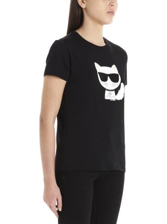 Karl Lagerfeld 'k/ikonic Choupette' T-shirt