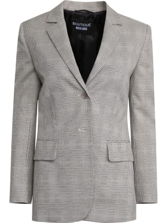 Boutique Moschino Prince Of Wales Checked Blazer