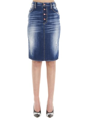 Dsquared2 'dalma' Skirt
