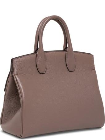Salvatore Ferragamo The Studio Leather Handbag