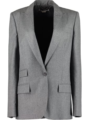 Stella McCartney Tailored Bell Wool Single-breasted Blazer