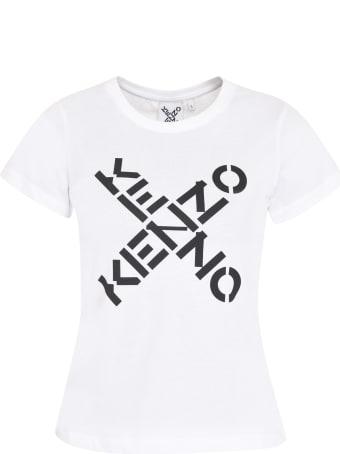 Kenzo Logo Print Cotton T-shirt